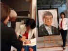 رابعة حمو في حفل لتوقيع كتابها  المشهد الأندلسي للشاعر محمود درويش